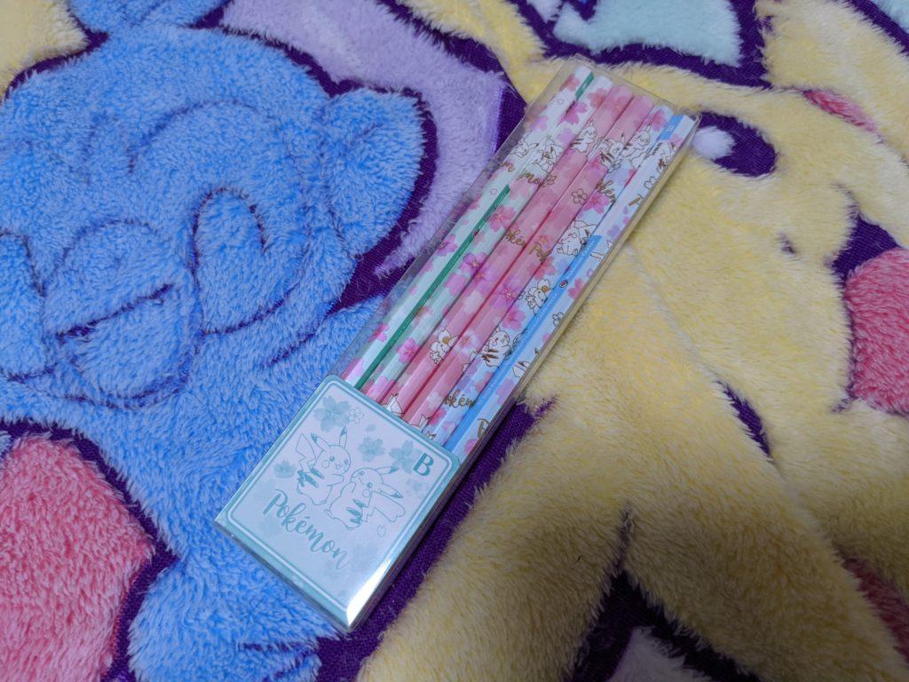 2B 鉛筆12本セット Pikachu CB